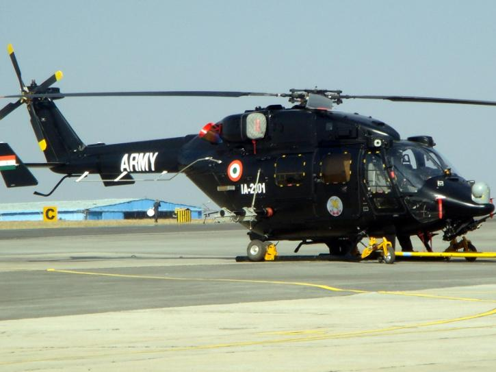 The Army Aviation Corps Advanced Light Helicopter (ALH)