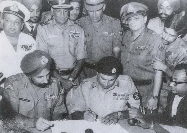 Pakistan Army surrendered in 1971