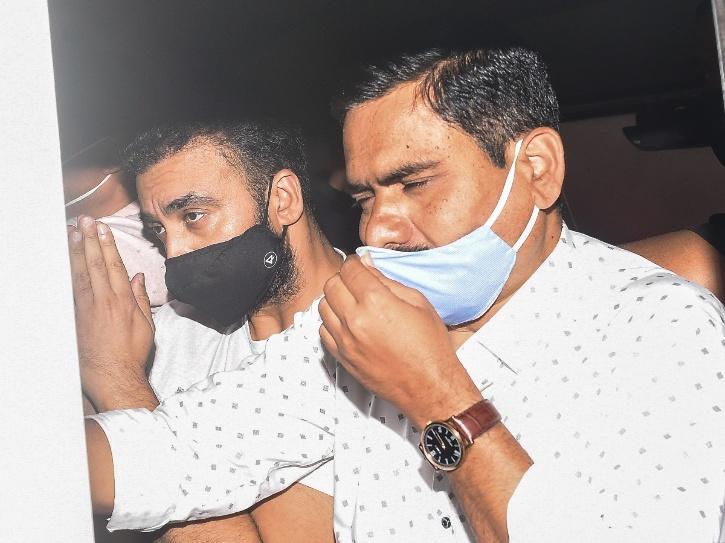 Raj Kundra in judicial custoday.