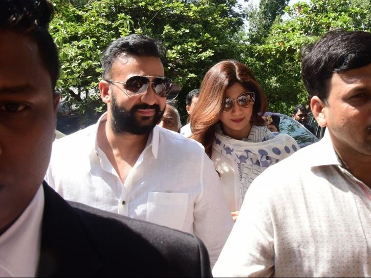 A still of Raj Kundra and Shilpa Shetty in an article about Bombay High Court granting interim relief to him in 2020 adult films case.