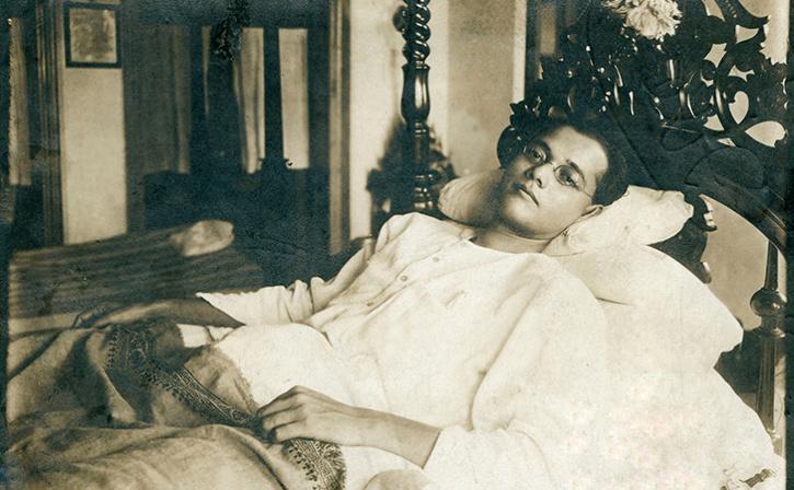 Rare Photo of Indian Freedom Fighter Subhas Chandra Bose
