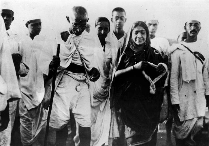 Rare Photo of Indian Freedom Fighter Mahatma Gandhi | AFP