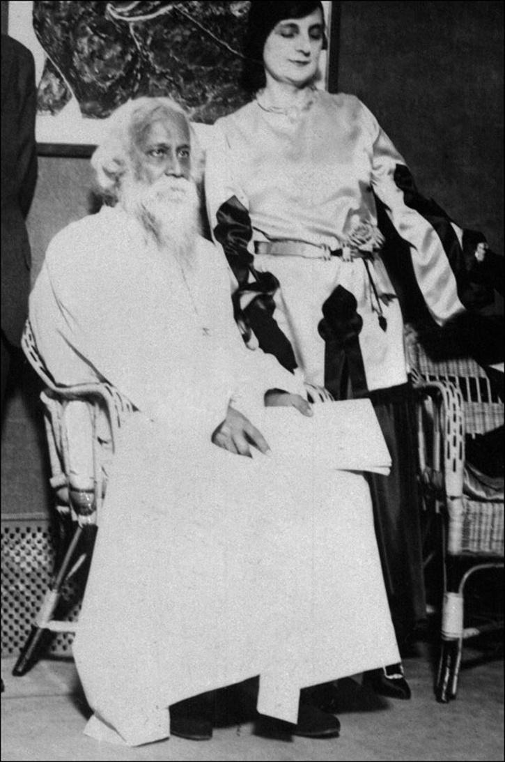 Rare Photos of Indian Freedom Fighters tagore