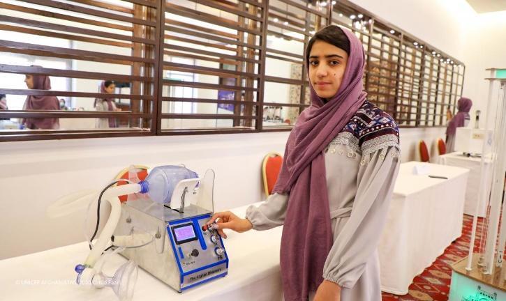 all-girls Afghan robotics team