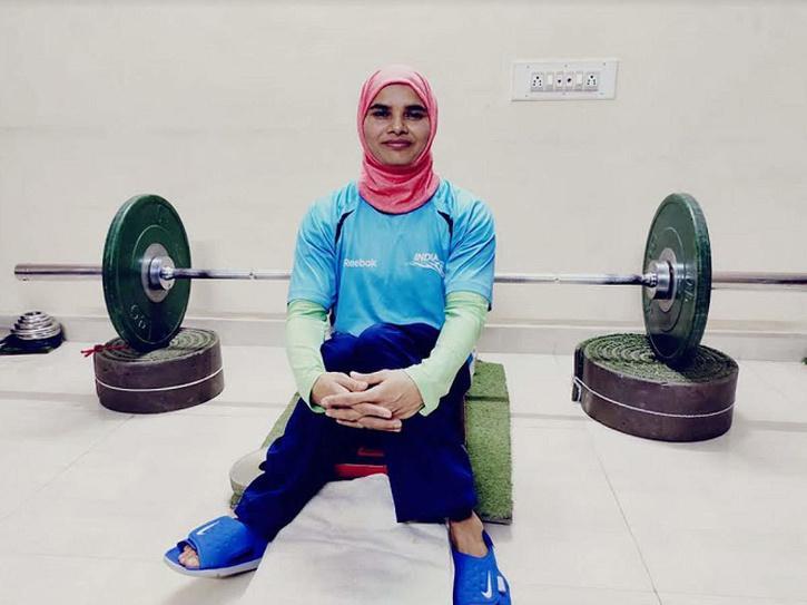 Indian powerlifter Sakina Khatun