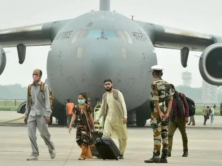 107 Indians Rescued From Afghanistan