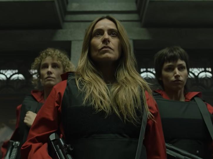 It's not a robbery, it's a war, says Money Heist season 5 trailer.