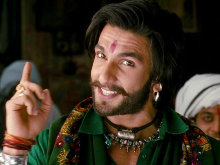 Ranveer Singh in Sanjay Leela Bhansali