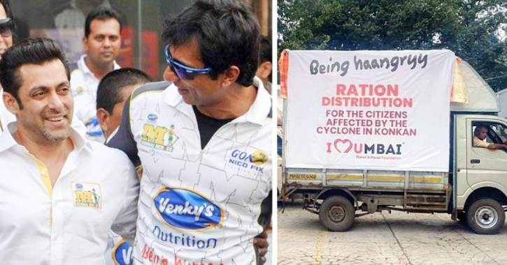 Sonu Sood And Salman Khan Provide Essential Items To The Victims Of Maharashtra Floods