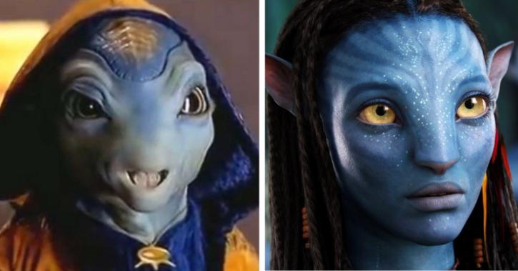 Jadoo from Koi Mil Gaya and Avatar
