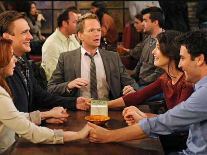 A photo from How I Met Your Mother amid a spin off called How I Met Your Father being in works.