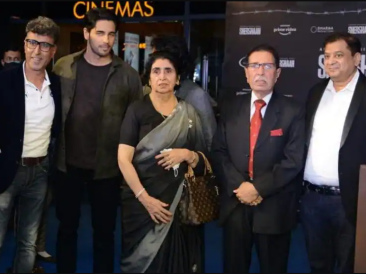 Captain Vikram Batra's family attend screening of Shershaah. They had tears in their eyes.
