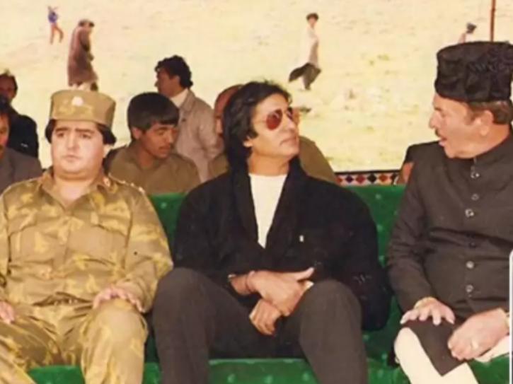Amitabh Bachchan shot for Khuda Gawah in Afghanistan.