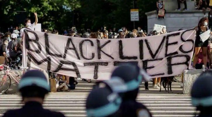 A Black Lives Matter demonstration in the United States