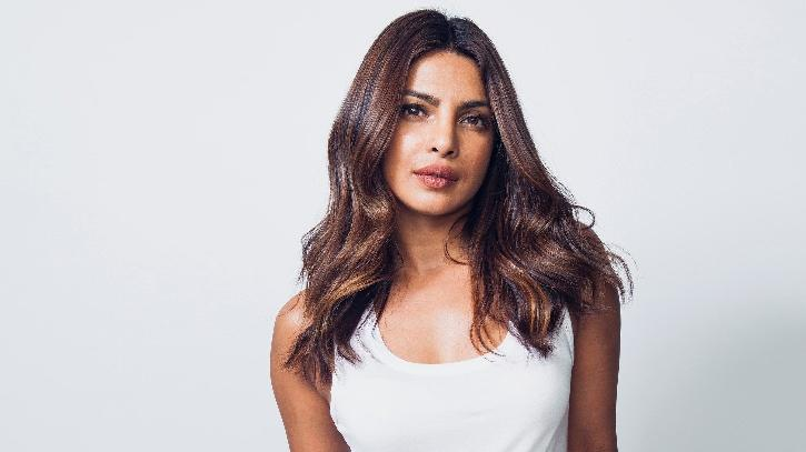 Priyanka Chopra used an image from Aghanistan and added pics from Lebanon, Haiti, and Turkey.