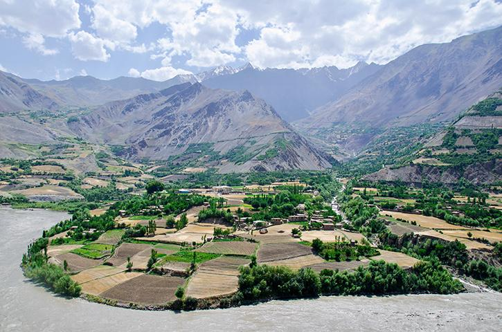 Afghanistan China never been colonised by european