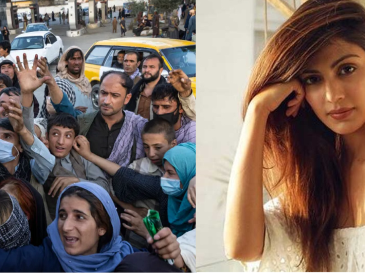Rhea Chakraborty Heartbroken To See The State Of Women In Afghanistan, Requests Global Leaders To Stand Up