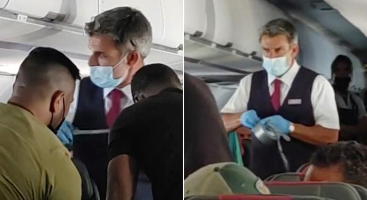 teen duct-taped on flight after throwing tantrum.