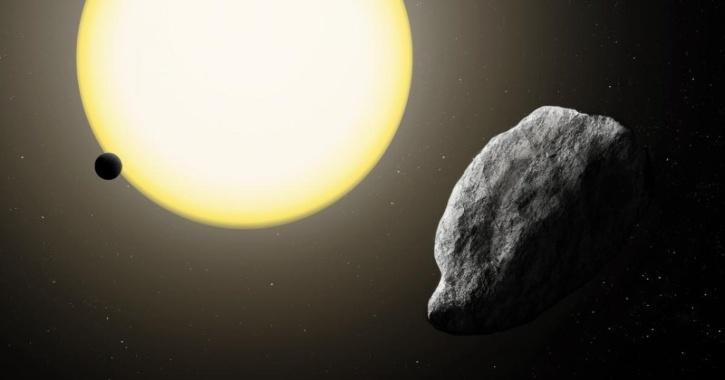 asteroid sun mercury