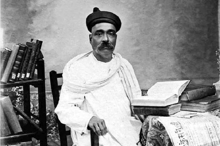 Rare Photo of Indian Freedom Fighter Bal Gangadhar Tilak