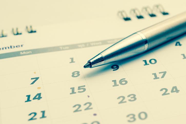Bank holidays in September 2021