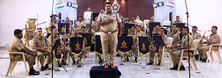 The stunning performance that is winning hearts in the viral video is by Police Band Khakhi Studio.