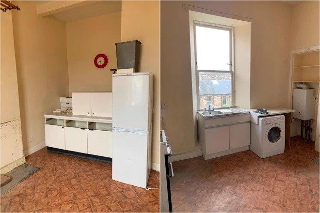 Glasgow landlord renting apartment without kitchen