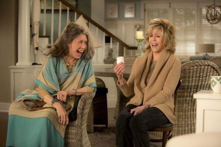A Still from Grace and Frankie
