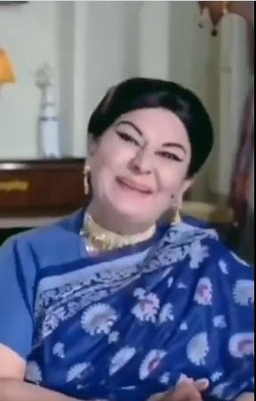 manorama and her acting
