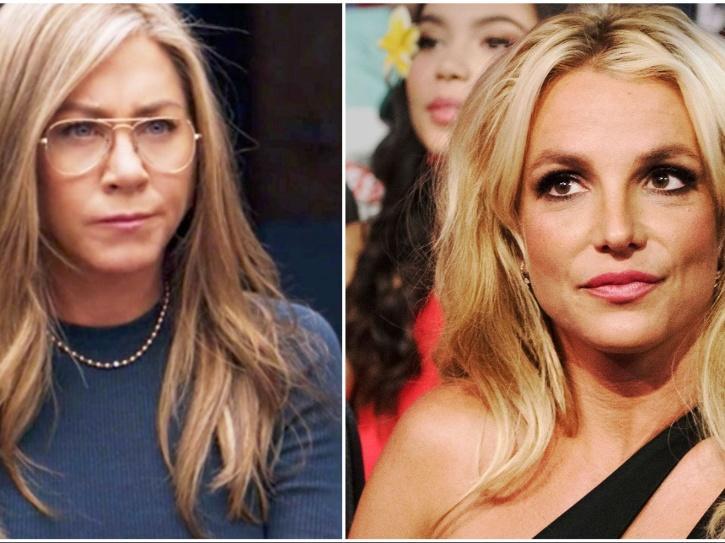 Jennifer Aniston talks about Britney Spears