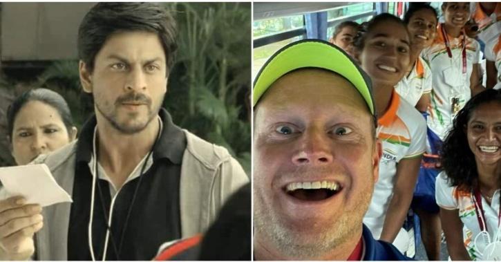 Marijne and Shah Rukh Khan