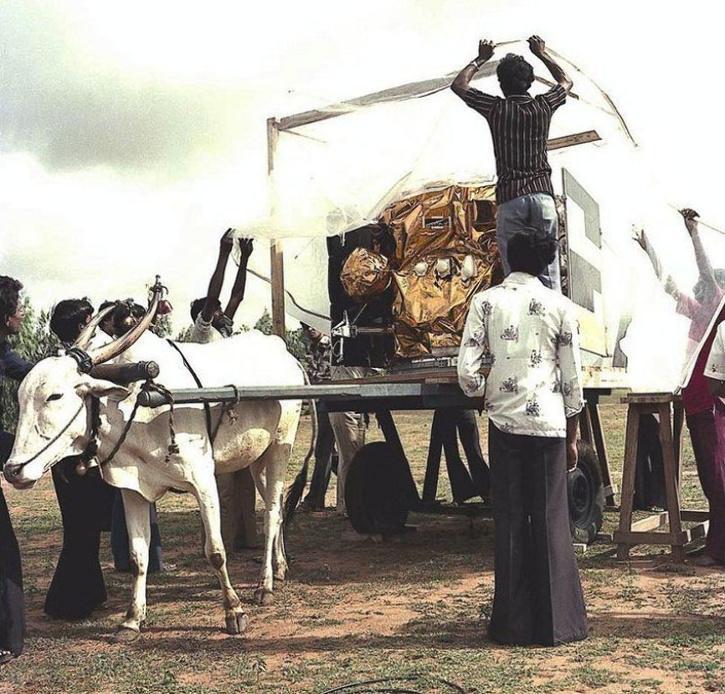 ISRO's First Communication Satellite