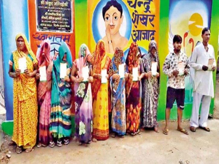 Over 50 in UP village get vaccine certificates without jabs.