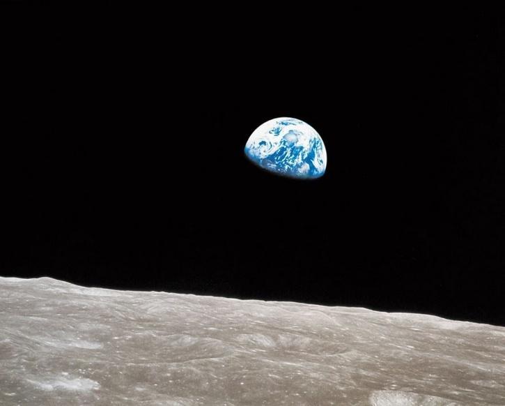 Earthrise, William Anders, NASA, 1968