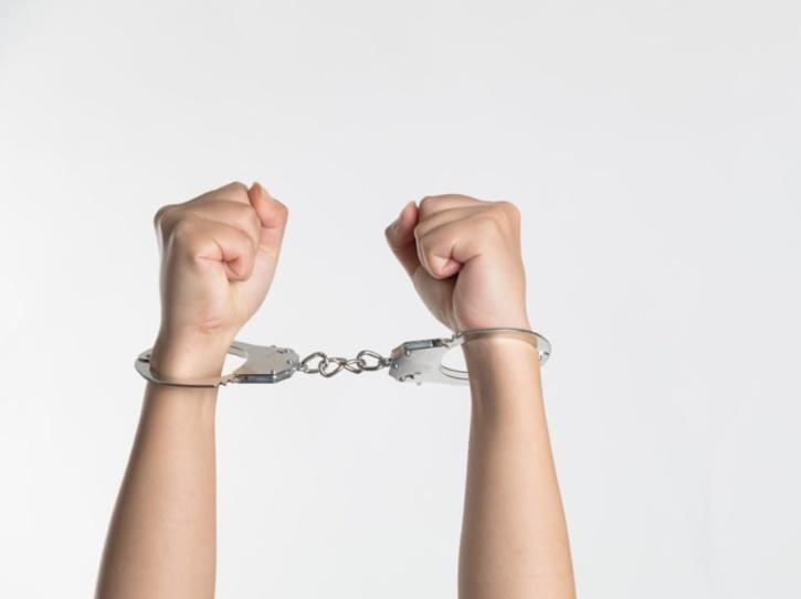 wear your handcuffs