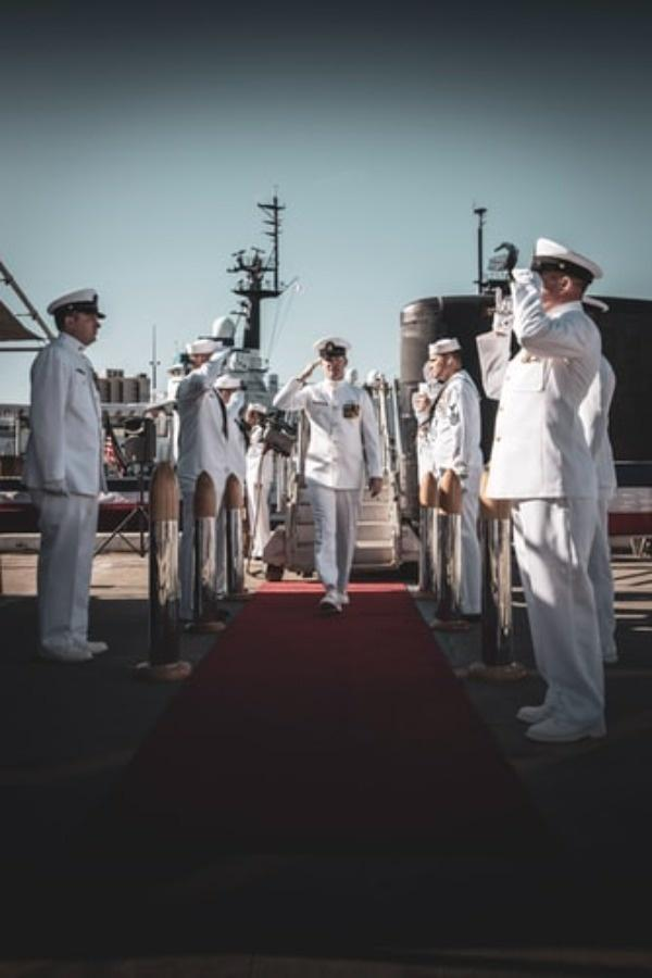man joining the navy