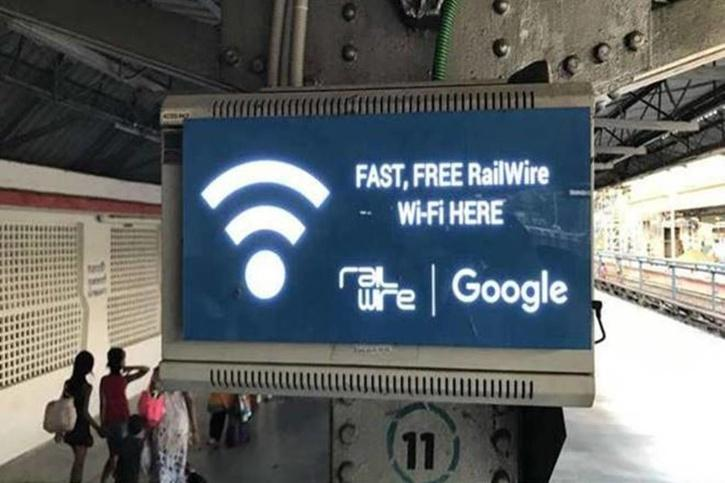 Wi-Fi services in trains
