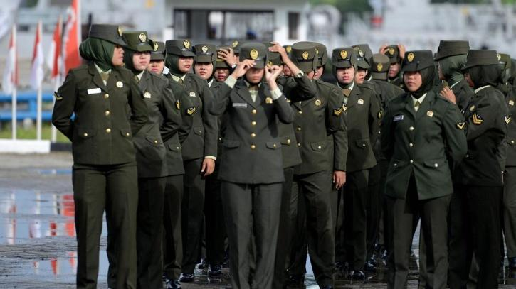 Indonesian Army bans virginity tests for women cadets