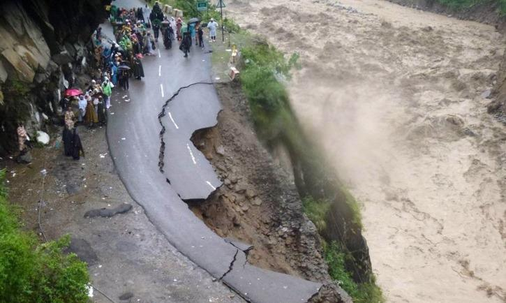road-caved-in