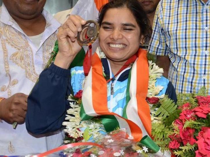 Indian powerlifter Sakina Khatun   indianwomenblog