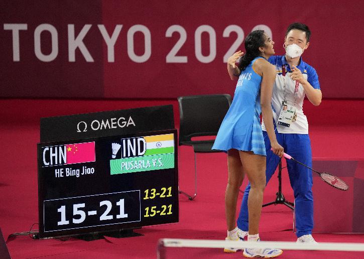Park Tae Sang PV Sindhu coach tokyo olympics