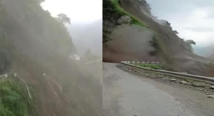 landslide in Solan district