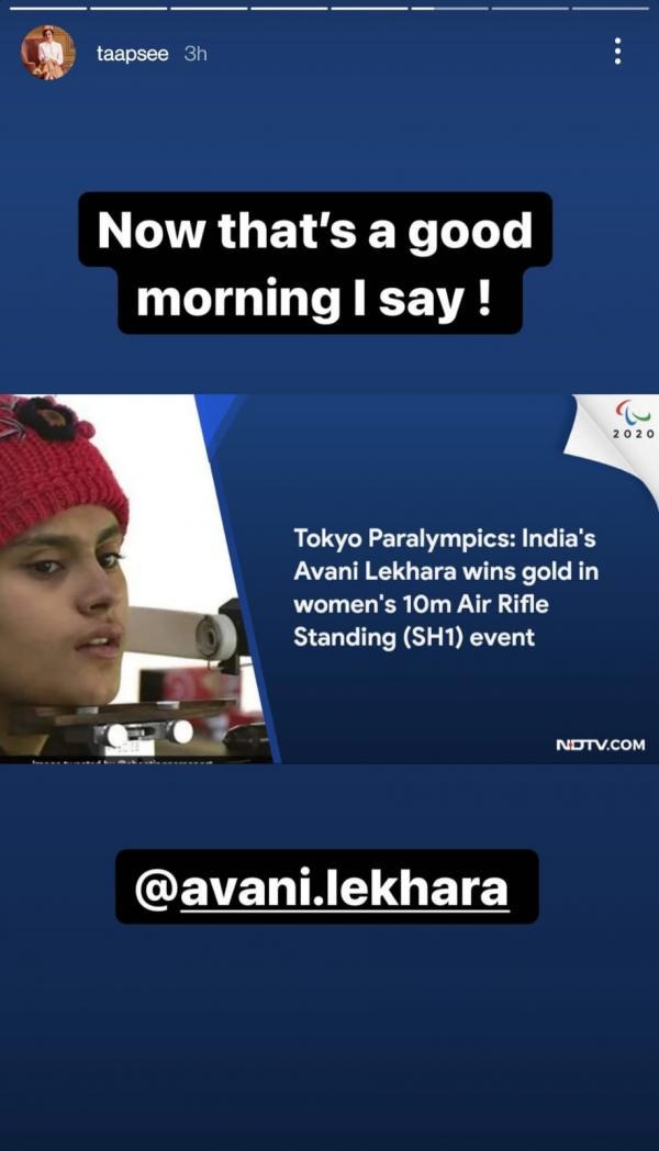 Kangana Ranaut, Randeep Hooda, Bebo, Celebrates First Ever Gold Win Of Avani Lekhara At Tokya Paralympics
