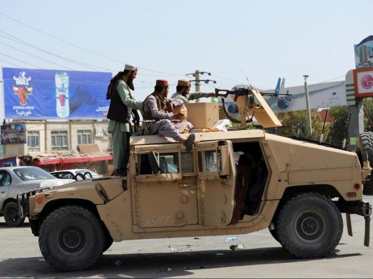 taliban humvee