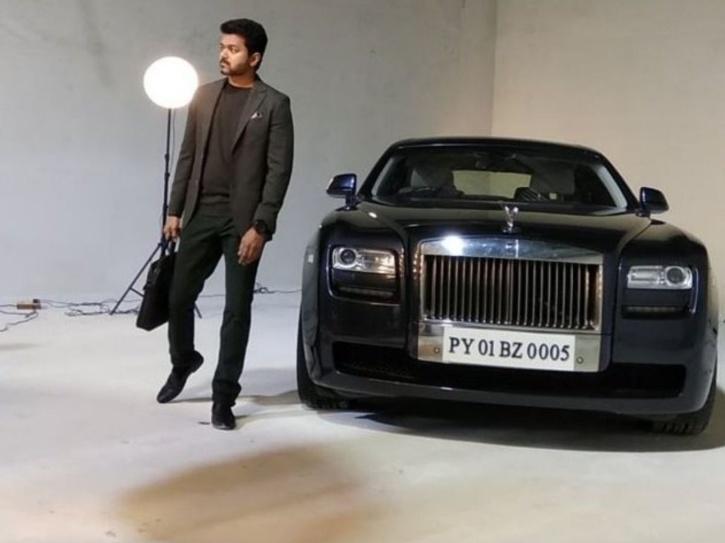thalapathy vijay rolls royce car price