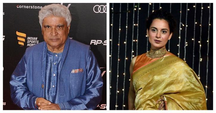 Kangana Ranaut and Javed Akhtar / Indiaitimes