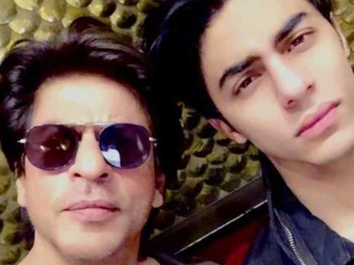 Shah Rukh Khan with Aryan Khan.