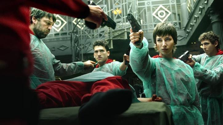 Money Heist Season 4 / Netflix India