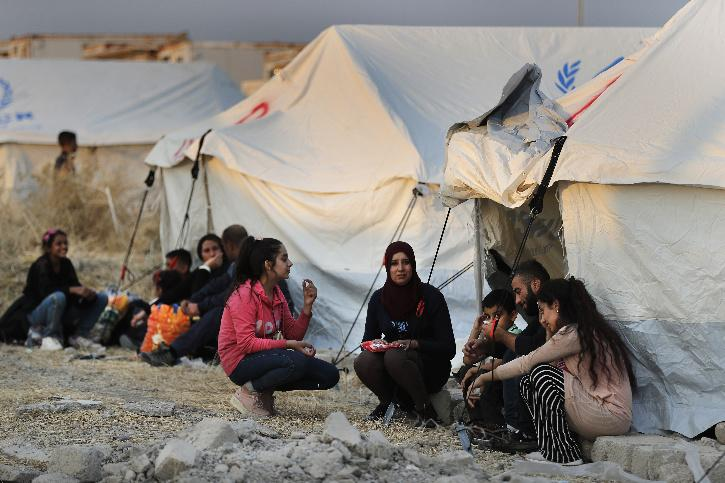 Syrian Conflict Displaced