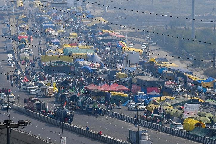 Farmers Protest Delhi Border